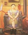 Botero - Girl 1974, picture