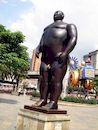 Ботеро - Скульптура Адам
