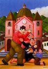 Ботеро - Бойня невинных 1999г, картина