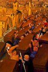 Ботеро - Демонстрация 2000г, картина