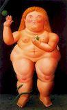 Ботеро - Ева 1989г, картина