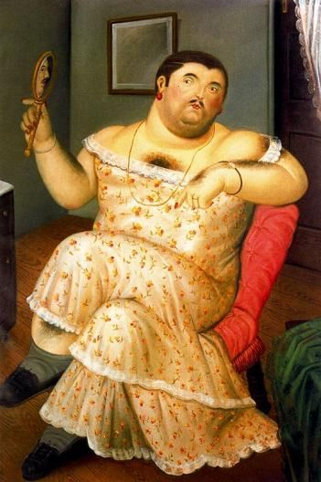 Fernando Botero - The Melancholy of 1989, picture