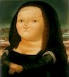 Ботеро - Мона Лиза 1977г, картина