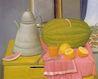 Ботеро - Натюрморт с арбузом, картина