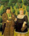 Ботеро - Пара 1995г, картина