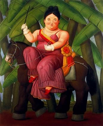 Fernando Botero - The First Lady of 1989, picture