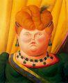 Ботеро - Первая леди 2000г, картина