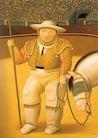 Ботеро - Пикадор 2002, картина