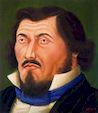 Ботеро - Портрет Э.Делакруа 1998г, картина