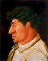 Ботеро - Портрет Дж.Джакометти 1998г, картина