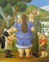 Ботеро - Семья 1996г, картина