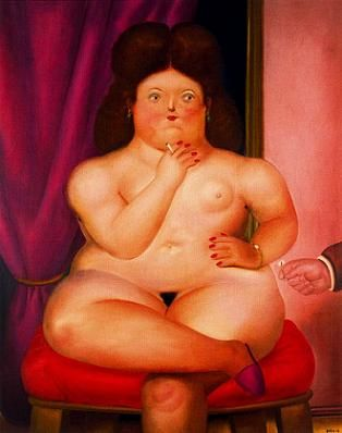 Fernando Botero - Seated Woman, 1976, picture