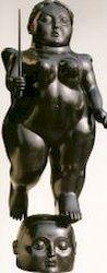 Ботеро - Скульптура Архангел