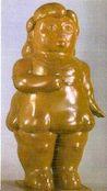 Ботеро - Скульптура Женщина