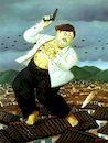 Ботеро - Смерть Пабло Эскобара, картина