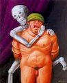 Ботеро - Утешение 2000г, картина