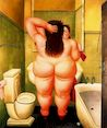 Botero - In Bath-room 1989, picture
