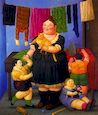 Botero - Widow of 1997, picture