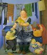 Botero - Widow of the picture